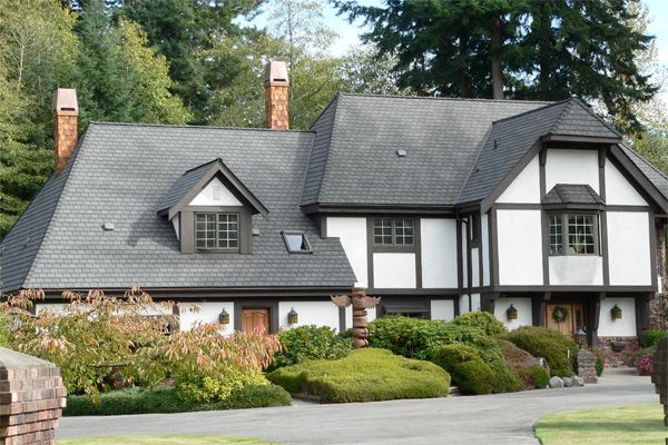 Fakes Worth a Second Look via HouseLogic | If you love the look of slate roofs but the cost just isn't within reach, consider faux stone tiles. Learn about the benefits of synthetic slate and how it stacks up against the real stuff!