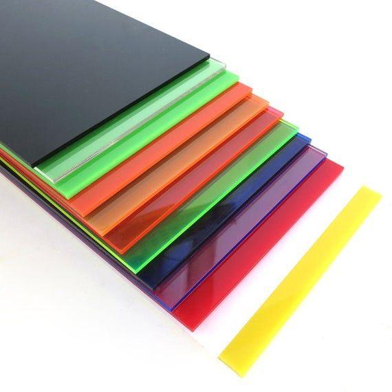 1002002 3mm Colored Acrylic Sheet Plexiglass Plate Diy Toy Etsy In 2020 Colored Acrylic Sheets Plexiglass Sheets Acrylic Sheets