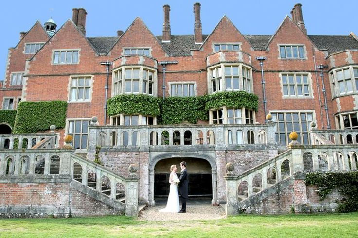 Marlston House Venue in Newbury, Berkshire. Grand redbrick mansion for a quintessentially English wedding day