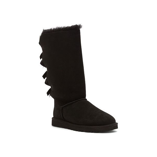UGG® Australia Bailey Bow Tall ($250) ❤ liked on Polyvore featuring shoes,