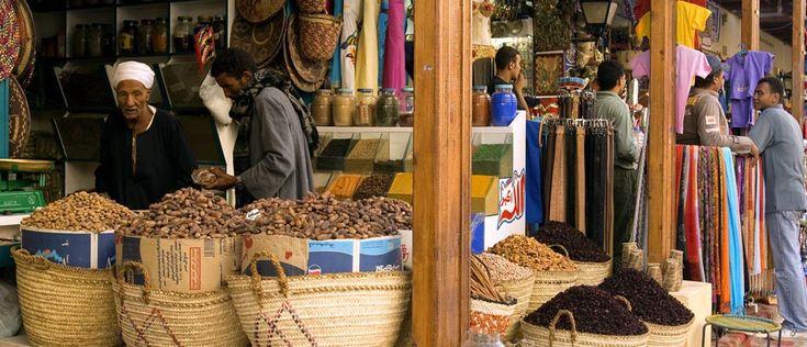 Aswas Souk Bazaar | Aswan Egypt