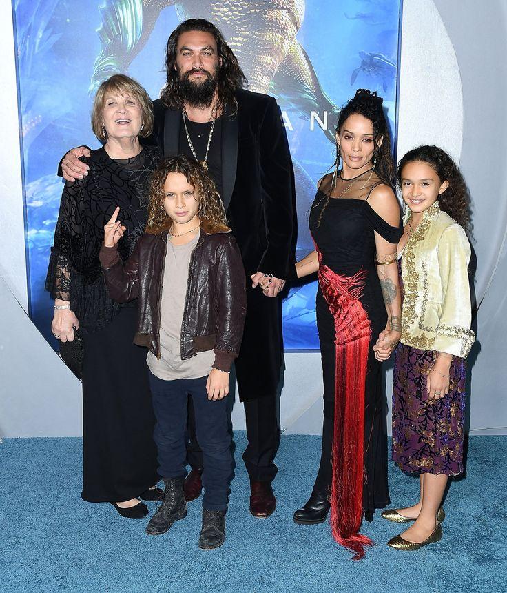 "Jason Momoa And Lisa Bonet's PDA On The ""Blue"" Carpet"