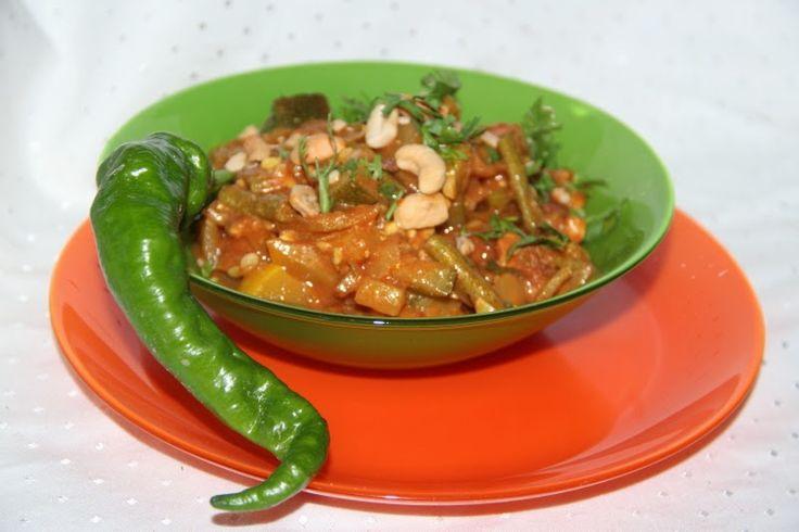Godt og Sunt: Indisk Squash Korma - vegetarisk