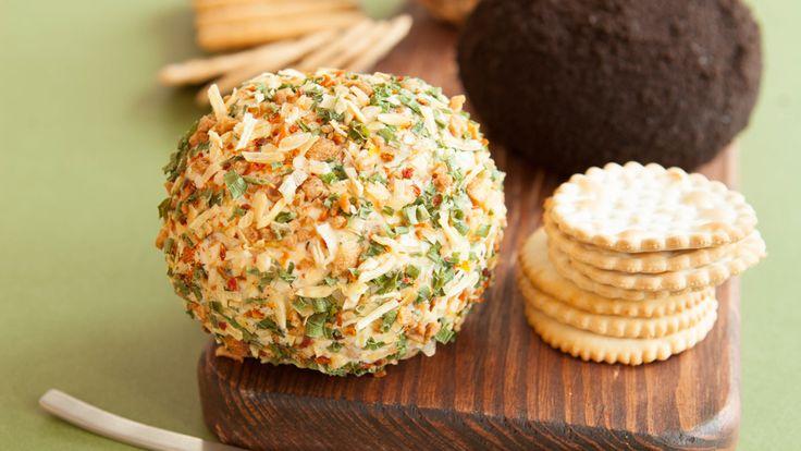 Onion & Bacon Cheese Ball