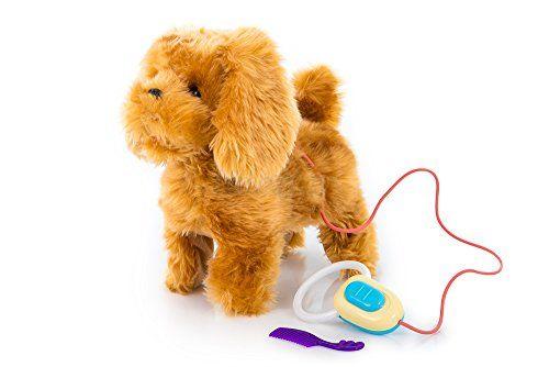 Interaktive-KP7760-Spielzeug-Hund-mit-Fernbedienung-belt-und-luft