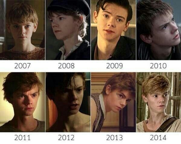 This guy doesn't age. Thomas Sangster