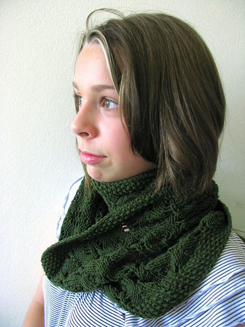 Wool Leaves by Jared Flood ... I converted into a cowl ...