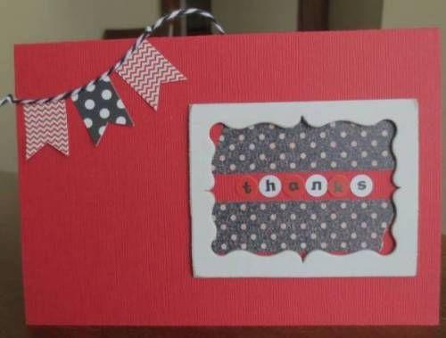 December CT ~thanks card~  Ellen  card
