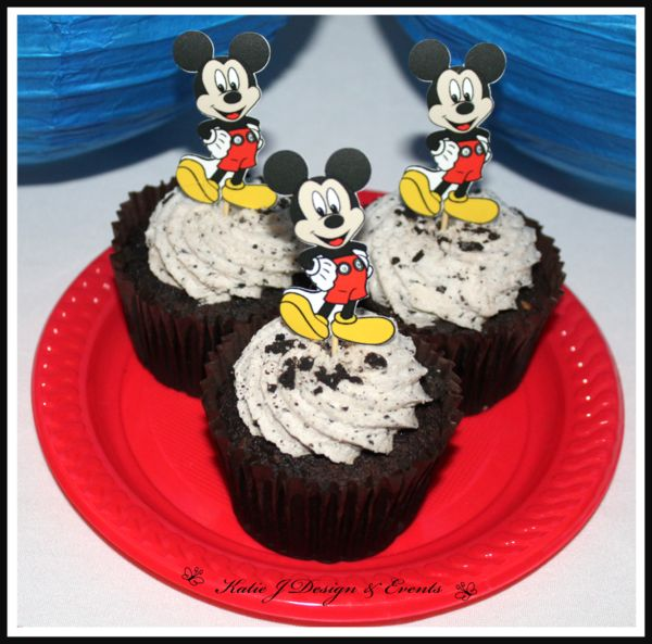Cupcake Toppers #Baby #Cute #Shower #Mickey #Mouse #Blue #Boy #Shower #1st #2nd #Birthday #Party #Bunting #Party #Decorations #Ideas #Banners #Cupcakes #WallDisplay #PopTop #JuiceLabels #PartyBags #Invites #KatieJDesignAndEvents #Personalised #Creative