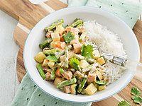 Recept Groene curry met koolrabi | Ekoplaza | De grootste biologische supermarktketen van Nederland