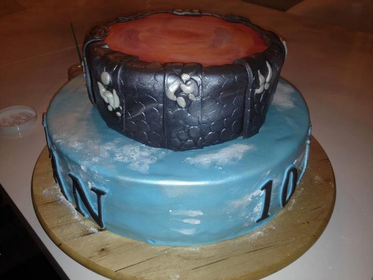Skylanders cake fondant