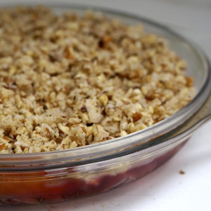 Recipe Too Easy Crumble (GAPS, Paleo, Grain/Dairy/Gluten Free) by Stone Soup - Recipe of category Baking - sweet