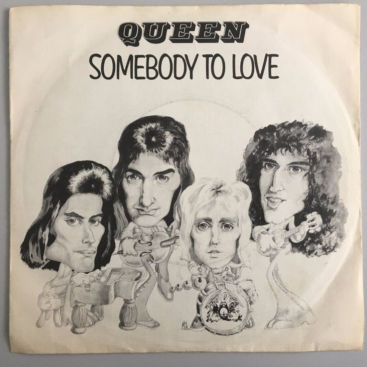 """Queen - Somebody to love - 7"""" - HOLLAND - Unique sleeve, great condition"""