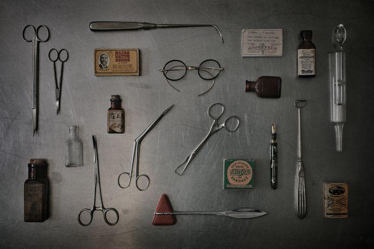 physician paraphernalia  circa 1940   medicine