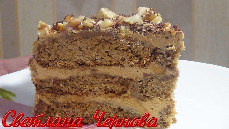 ТОРТ без выпечки из овсяного печенья .ОЧЕНЬ ПРОСТОЙ РЕЦЕПТ/CAKE without ...