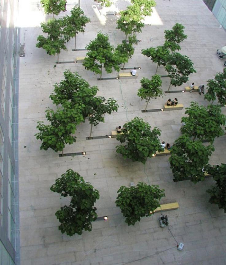 public space àndel-smichov, Praha, 2003