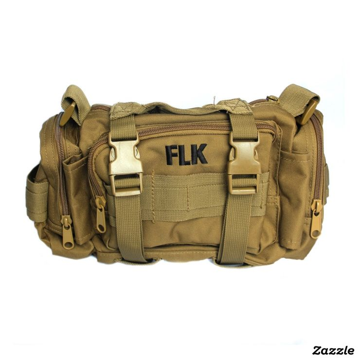 Tactical Pack Personalized w/ Initials #bag #forhim #travelbag