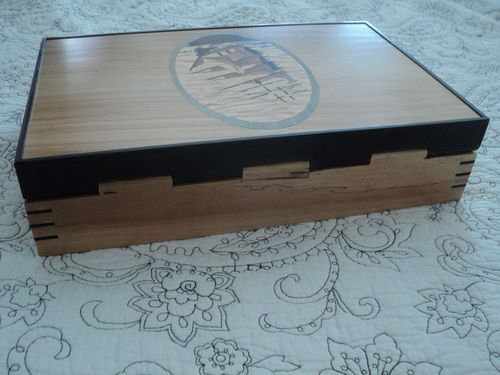 Easy. Elegant Wooden Box Hinge #1: I could kick myself