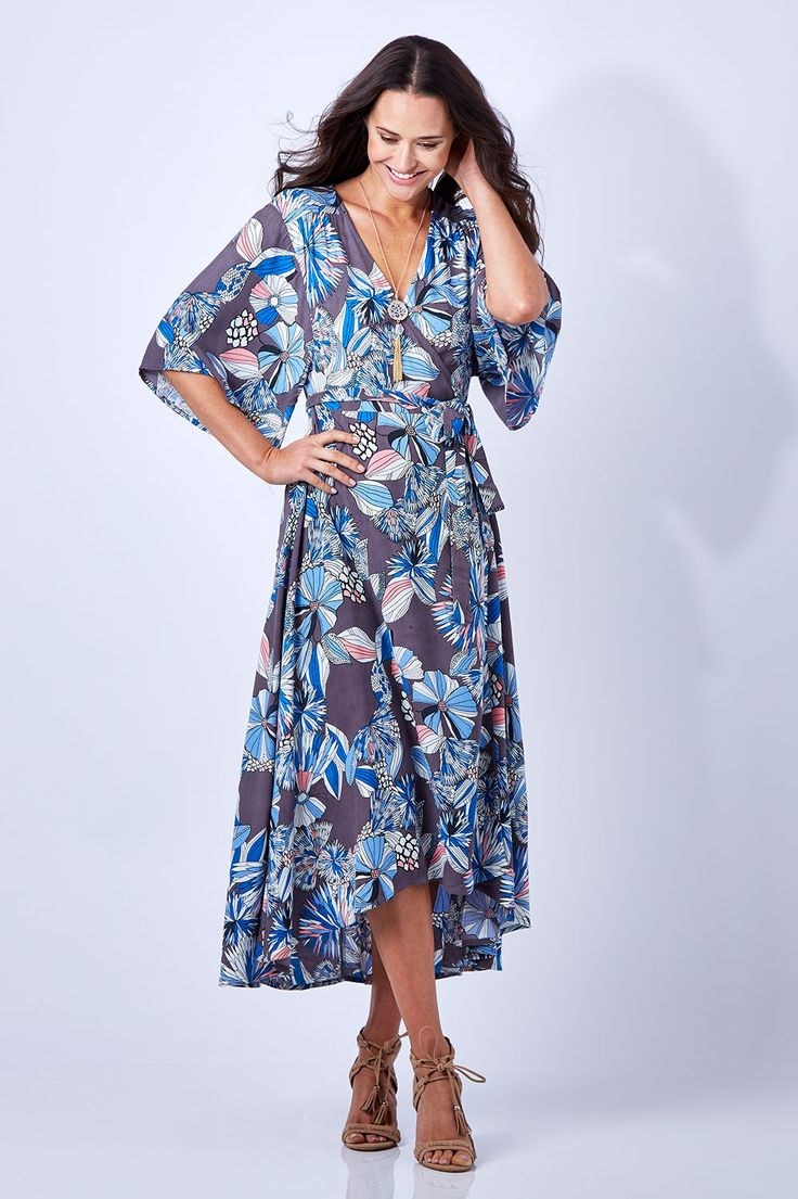 BOHO BIRD - Magic In Me Wrap Dress