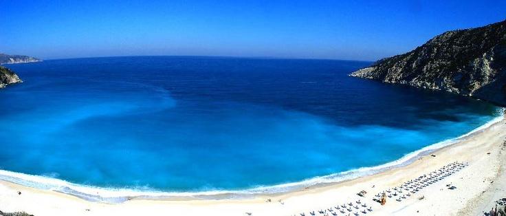 The famous Myrtos Bay..
