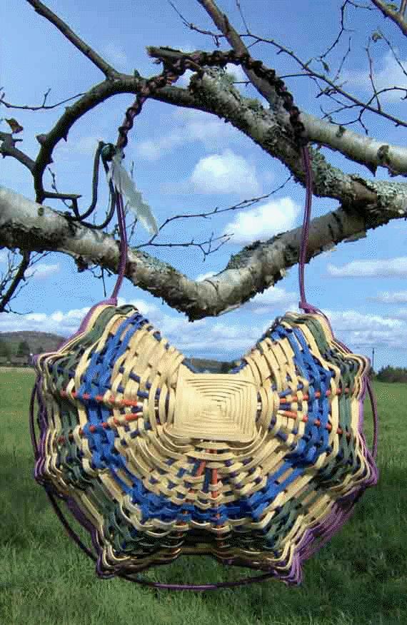 Metis medicine baskets , Ojibway Cree Artist ,hand crafted basket
