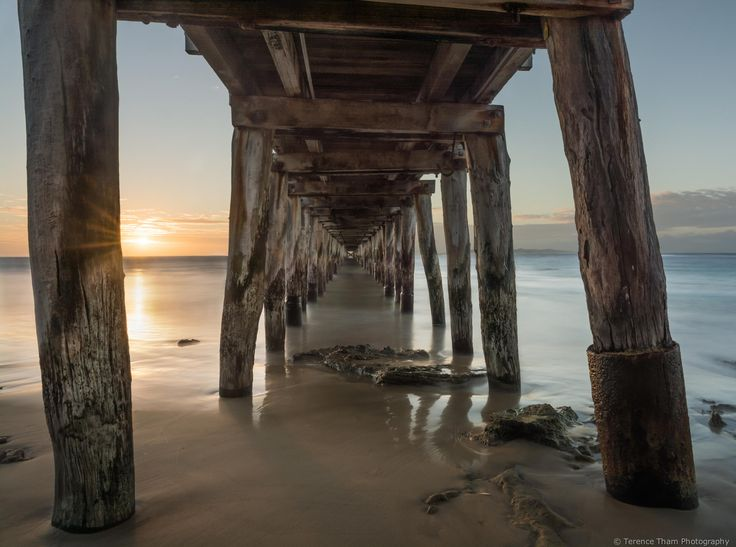 Sunrise at Point Lonsdale Pier by Terence Tham / 500px