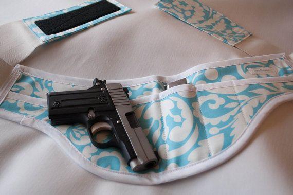 Concealed carry holster for women by SlightlyBefuddled on Etsy