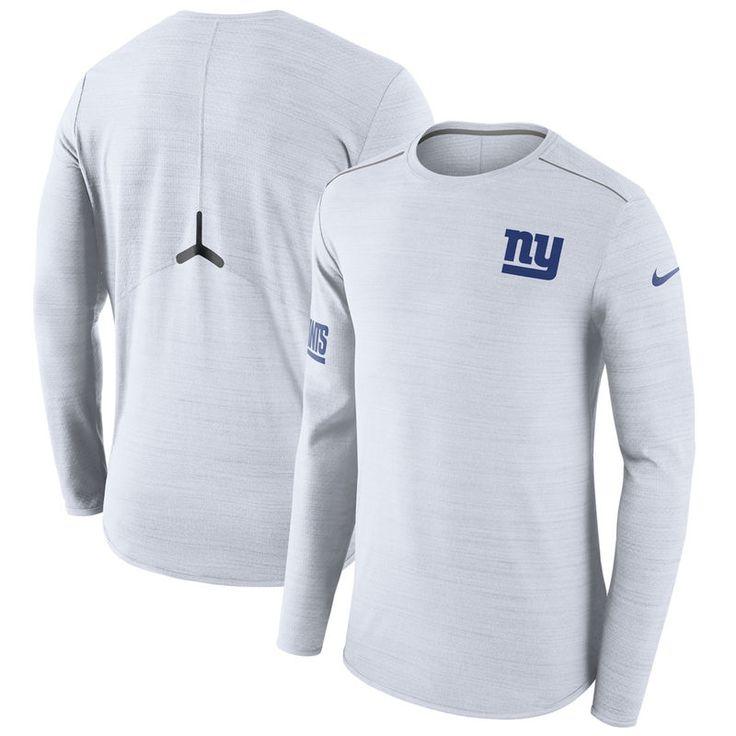 New York Giants Nike Color Rush Player Long Sleeve T-Shirt - White