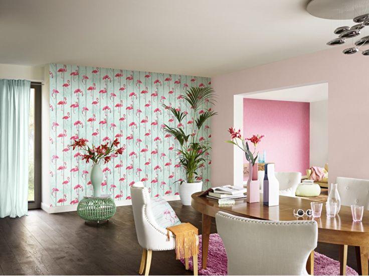 Rasch B.B. Home Passion 5 behang 479706 Flamingo's