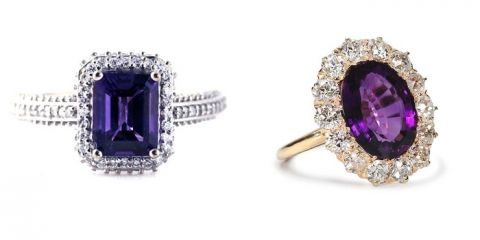 Amethyst Engagement Rings | You're a Gem - Alternative Engagement Rings for the Individual Bride