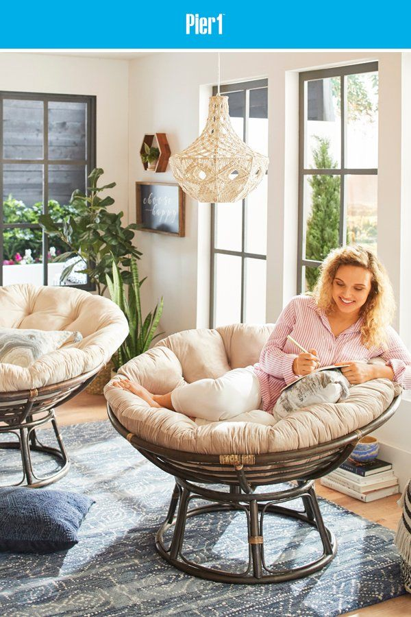 After All These Years Our Iconic Papasan Is Still A Pier 1 Favorite It S Handcrafted And Crazy Cozy Like Alwa Papasan Chair Lounge Furniture Furniture Trends #pier #one #chairs #living #room