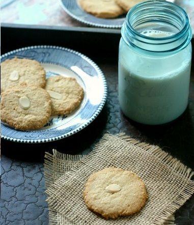 Galletas de almendras | #Receta de cocina | #Vegana - Vegetariana ecoagricultor.com