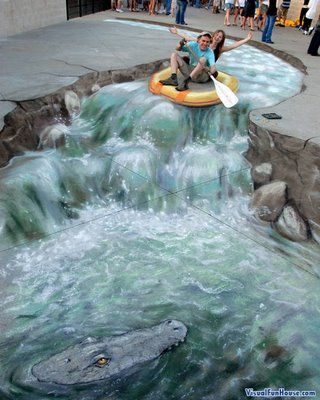 Sidewalk Chalk Art  www.nipon-scope.com