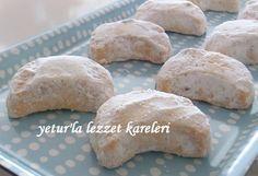 yetur'la lezzet kareleri: bademli kurabiye