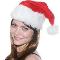 Klassieke kerstmuts. Erg leuk om op te doen tijdens een kerst feestje.