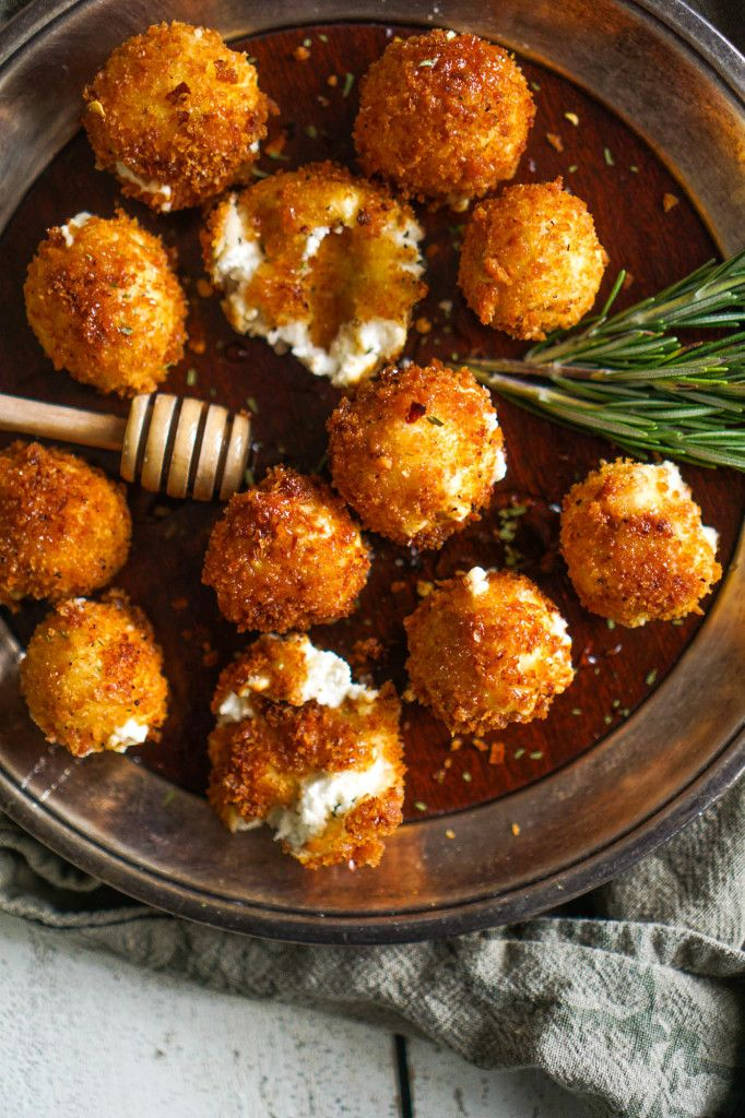 Goat cheese flavored with honey and tarragon, rolled into a ball, fried to crispy perfection, then drizzled with more honey and a pinch of red pepper – as if goat cheese couldn't get any better.   December is one of our busiest months of catering. Unlike wedding season where there are weddings every weekend,...