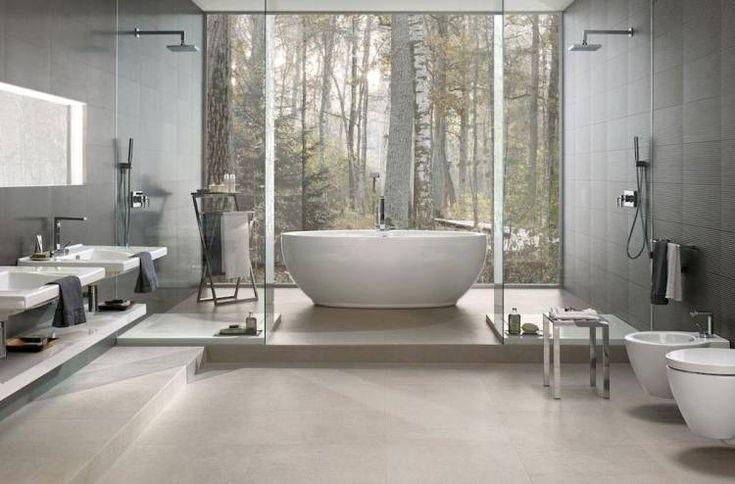 Bodenfliesen Badezimmer Grau Badezimmer Mit Holzoptik Fliesen Fenster Mit Einbru Bodenfliesen Badezimmer Grau Badez Badezimmer Grau Badezimmerboden Badezimmer