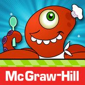 McGraw-Hill's Monster Squeeze game reinforces number recognition and offers a quick and easy way to practice number line concepts and number comparisons. This two-player game runs on the iPad, iPhone, and iPod Touch.