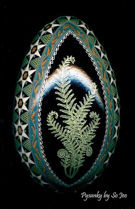 Struś Fern - przez So Jeo LEBLOND od Folk Art Gallery   (Wyniki wyszukiwania dla 'jaj')