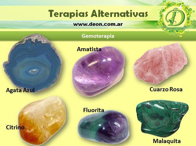 Los Cristales y su uso en Gemoterapia www.deon.com.ar