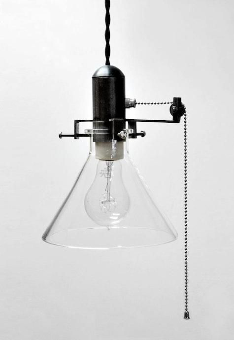 Industrial Pendant Lawrence Pulley: Remodelista