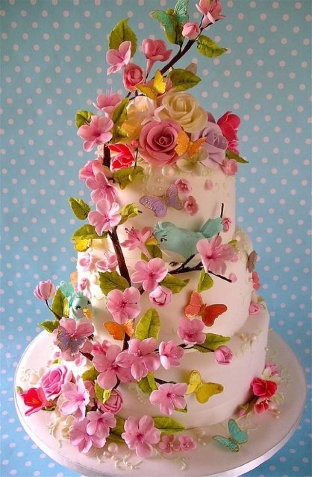 www.weddbook.com everything about wedding ♥ Beautiful Wedding Cake #weddbook #wedding #cake #yummy