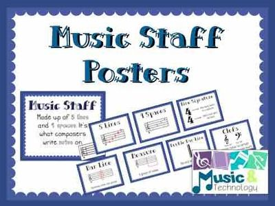 the music staff