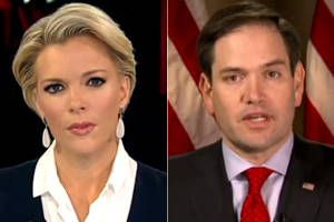 """Fox News hosts clearly obeyed their CEO Roger Ailes' marching orders: """"We can't do the Rubio thing anymore"""""""