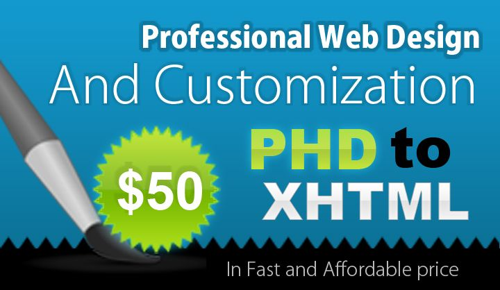 Get professional web design service at affordable price. We are specialized in customized web design service.