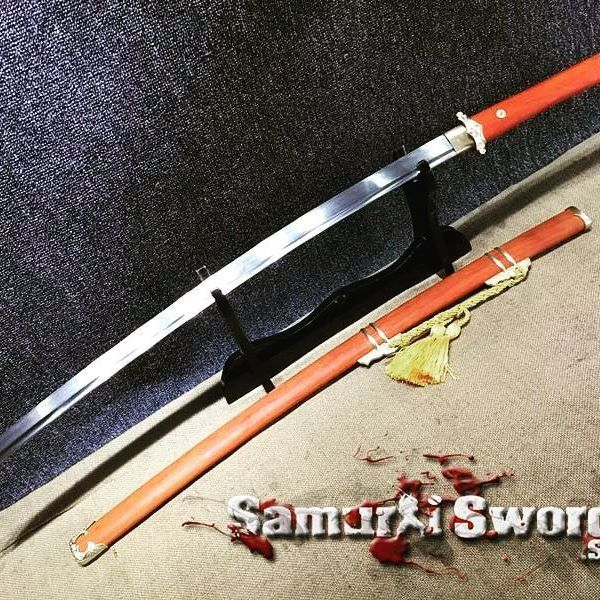 Follow @SamuraiSwords.Store⠀ Tachi Sword 9260 Spring Steel With Redwood Saya⠀ Click on link in bio to see prices and buy⠀ build your custom Samurai Sword using our app⠀ Download at:⠀ ⠀ SamuraiSwords.Store⠀ ⠀ #samuraistore #katana #samurai #ninja #sword #weaponoftheday #weaponsdaily #swordsforsale #weapon #japan #best #top #instagood #pictureoftheday #asia #ronin #america #usa #anime #manga #japanese #night #art #asian #awesome #cool #samuraiswords