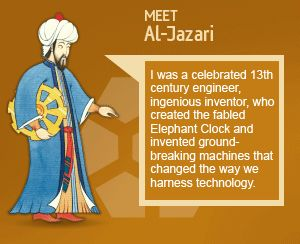 Al-Jazari was a 13th century engineer and inventor who  changed the way we harness technology.