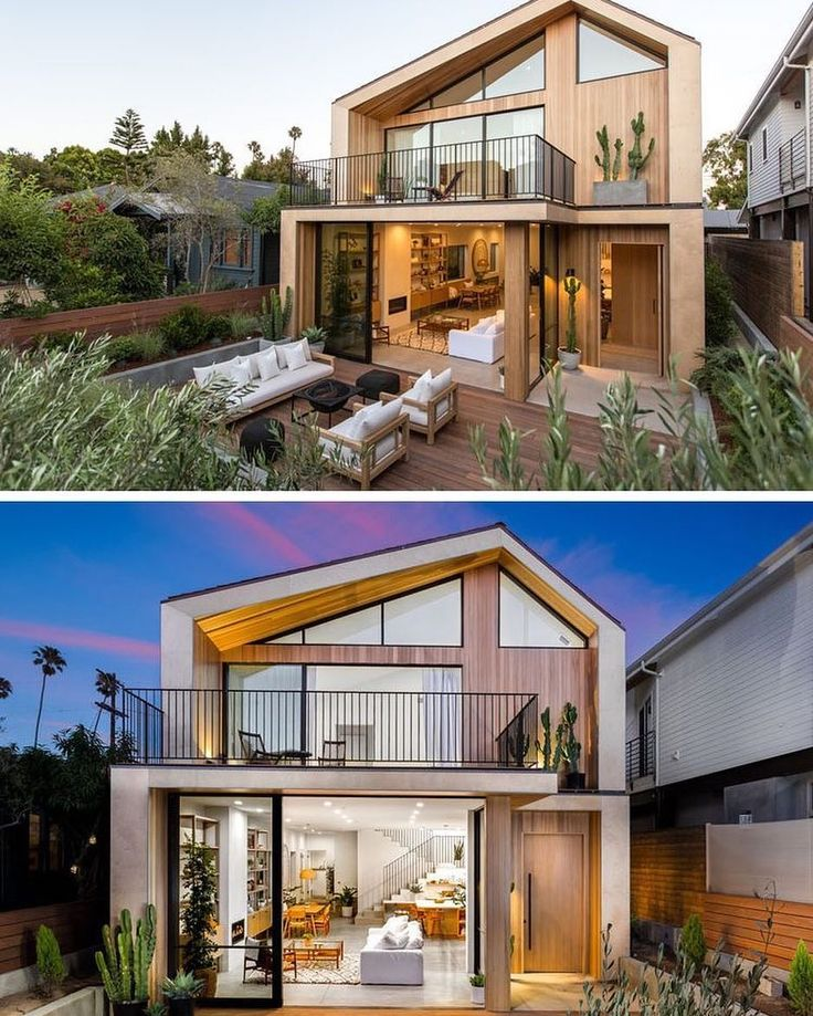 Architectural studio Electric Bowery have recently designed and built a new house in Venice Beach #California that takes inspiration from mid-century #Scandinavian design as well as the surrounding architecture of neighboring homes.