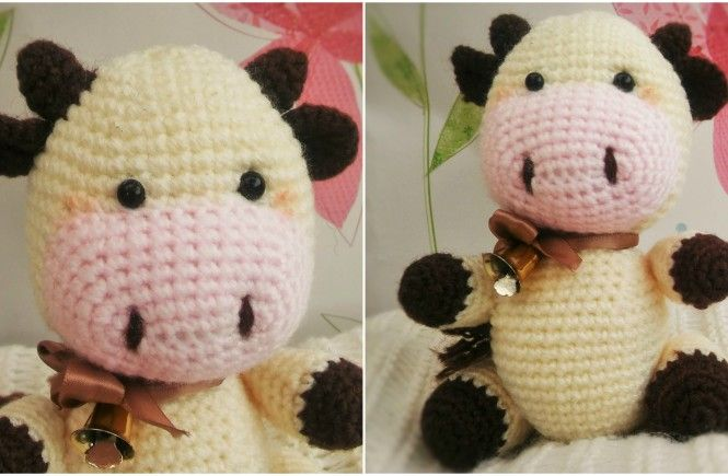 Candy the Cow Free Amigurumi Crochet Pattern Needle ...