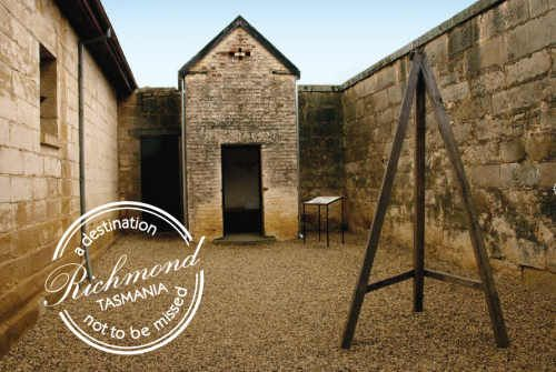 Richmond Gaol - in Tasmania, Australia is an historic site and popular visitor attraction